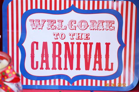 carnival sign template www imgkid the image kid