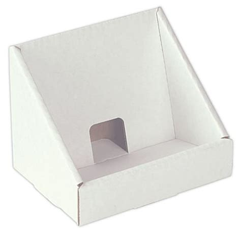 Cardboard Countertop Displays by Cardboard Cd Display Single Pocket Countertop Fixtures