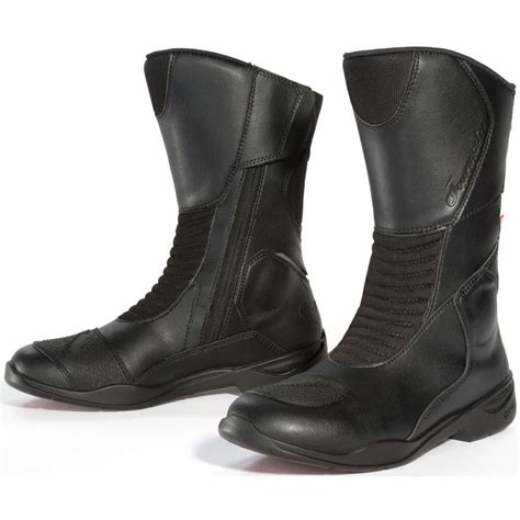 women s touring motorcycle boots tourmaster trinity women s touring boots released with