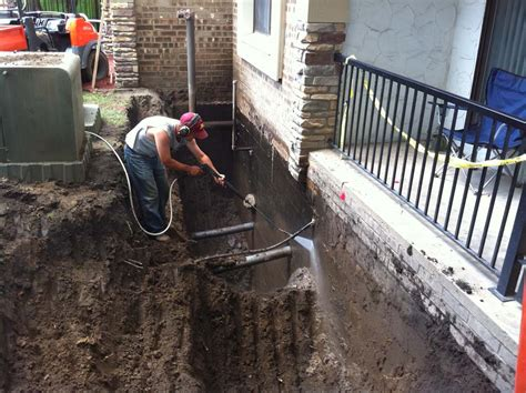 foundation drainage diversified drainage