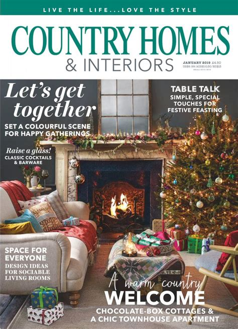 country homes and interiors magazine 2018 country homes interiors january 2019 pdf free