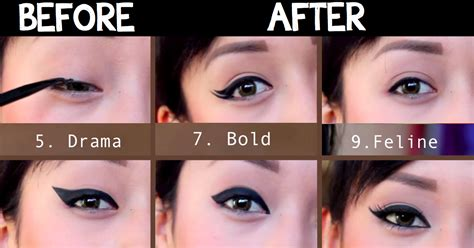 Beautistyle Eyeliner 9 different eyeliner styles that will give you the