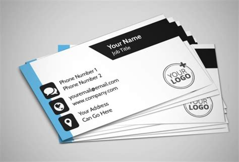 personal address cards templates business card exles free premium templates