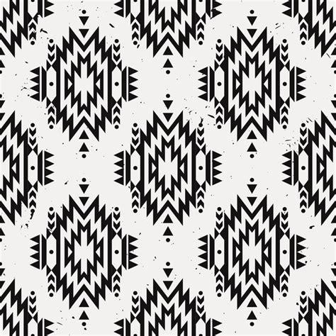 indian pattern motif vector grunge monochrome seamless decorative ethnic