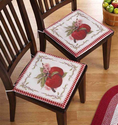 How To Make Kitchen Chair Pads by Cushions For Kitchen Chairs Home Furniture Design