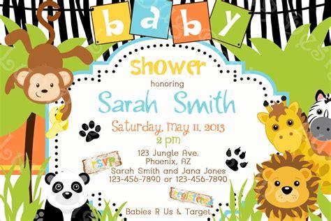 Social Saturday Jungle Card The - baby safari background www pixshark images