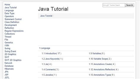 tutorial online java top free online java tutorials