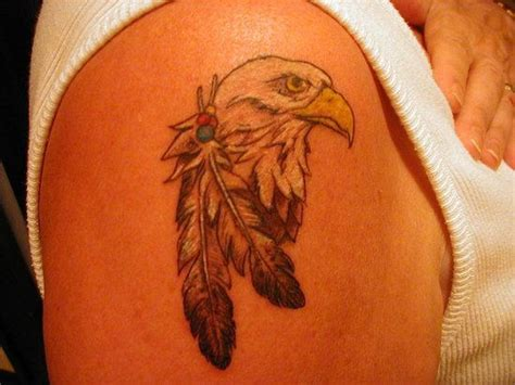 Tatto Eagle Feather Tattoo Eagle Feather Tattoos