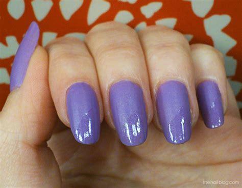 matte lilac nail the nail lilac half matte