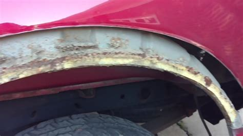 ford rust repair panels 08 ford f150 wheel and fenders rust repair with