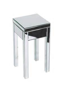 Mirrored Side Table Mirrored Accent Table Knowledgebase