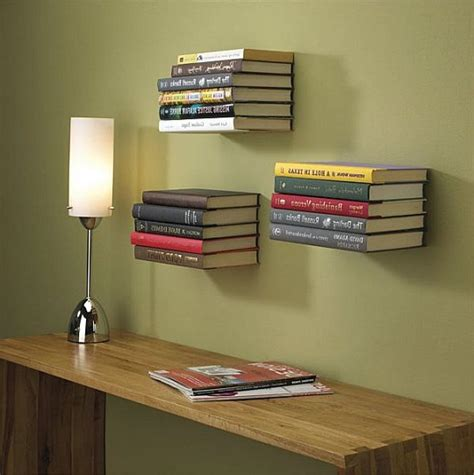 cool ideas diy floating bookshelves wall bookshelves