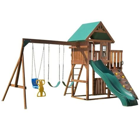 wooden swing set ideas 1000 ideas about swing sets on pinterest wooden swing