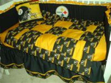 Steelers Crib Bedding Set Custom Baby Nursery Crib Bedding Set Made W Pittsburgh Steelers Fabric Also Pink Ebay