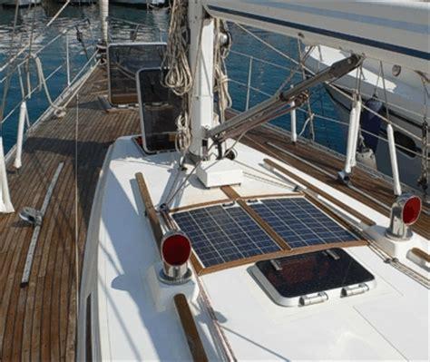 zonnepaneel zeiljacht sunware 70wp 24volt overloopbaar zonnepaneel zonnepanelen