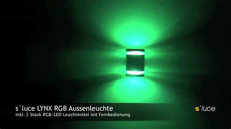 licht skapetze s 180 luce lynx rgb aussenleuchte licht design skapetze