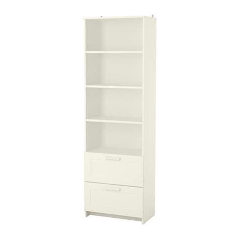 Ikea White Bookshelves Brimnes Bookcase White Ikea