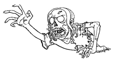 zombie halloween coloring page the scream of the zombie coloring pages zombie coloring