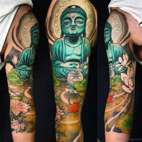 color tattoo designs for men 55 new style buddha on sleeve