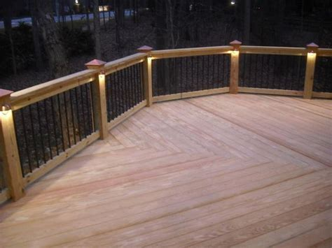 low voltage deck post lights pattern ideas this deck features a low voltage lighting