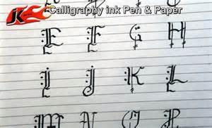 diy how to write calligraphy capital alphabets jk arts