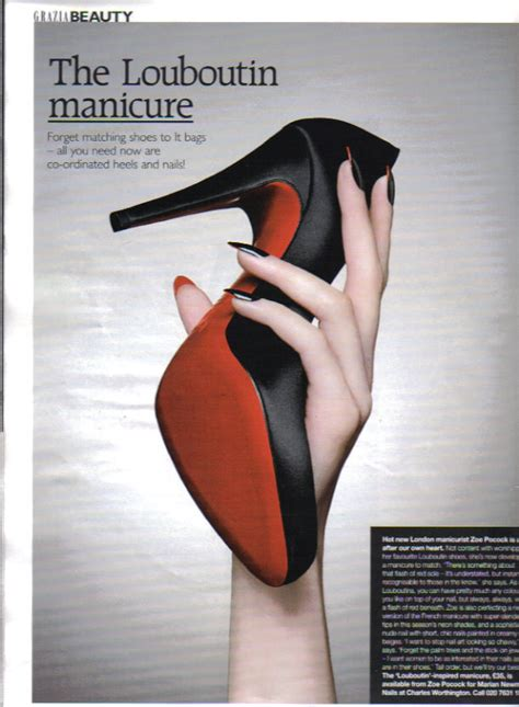 The Louboutin Manicure by Me To You The Christian Louboutin Manicure