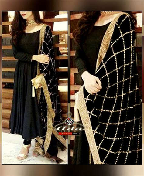 Ethnic Dress Black W7527oo I royal black ethnic dress blkjallhy003