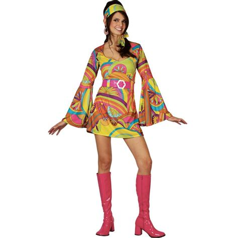 70s Wardrobe by Costumes Ltd Retro 60s 70s Groovy Gogo Fancy