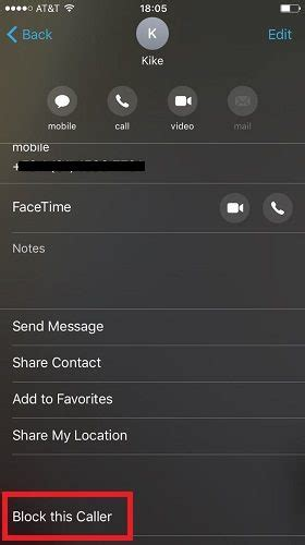Blocked Phone Number Lookup How To Block A Phone Number On Ios
