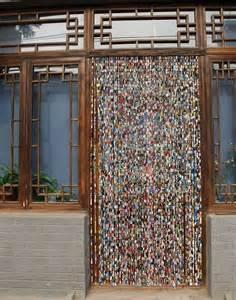Beaded Chain Curtain Dishfunctional Designs Beautiful Bohemian Beaded Curtains
