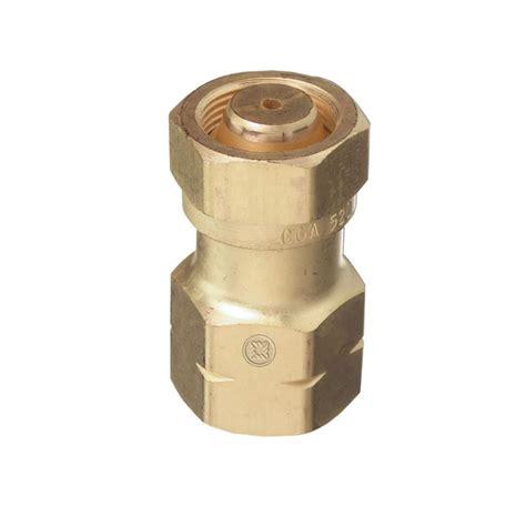 Regulator Adaptor thoroughbred industrial cylinder exchange cga 520 valve to