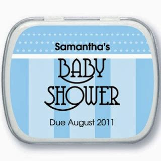Baby Shower Mint Tins by Baby Shower Mint Tins Personalized Baby Shower Ideas