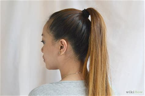 how do you put a pony tail scrunchie on short hair harmony magazine blog