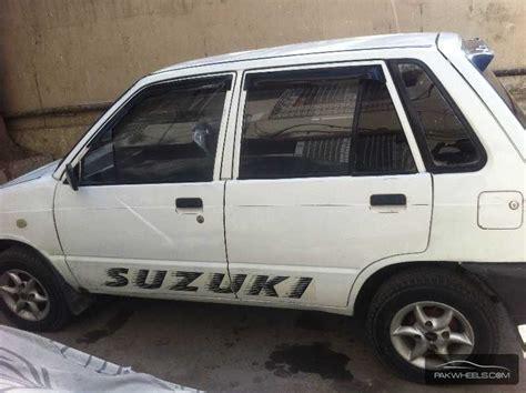 Suzuki Mehran 1998 Suzuki Mehran Vxr Cng 1998 For Sale In Karachi Pakwheels