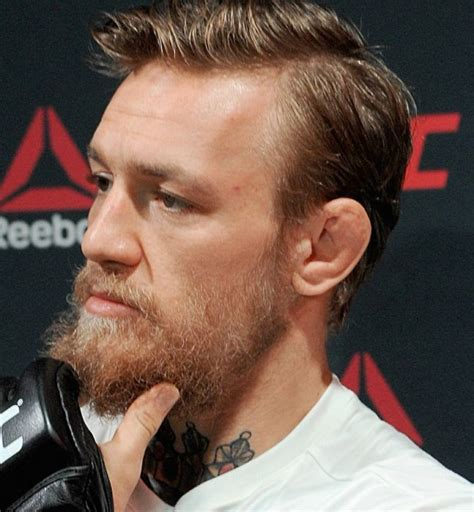 conor mcgregor hairstyles conor mcgregor haircut