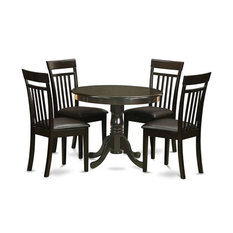 anca cap lc  pc small kitchen table  chairs set