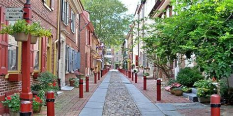 oldest street in philly elfreth s alley history of philadelphia philadelphia