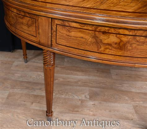 carlton house writing desk regency walnut carlton house desk writing ebay