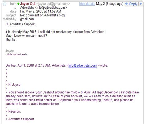 Closing Letter Waiting Response Advertlets Beware Of This Advertising Company Spblogger