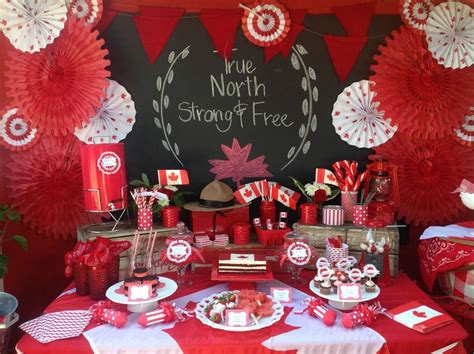 Home Decor Parties Canada by Canada Day Party Ideas Photo 13 Of 14 Catch My Party