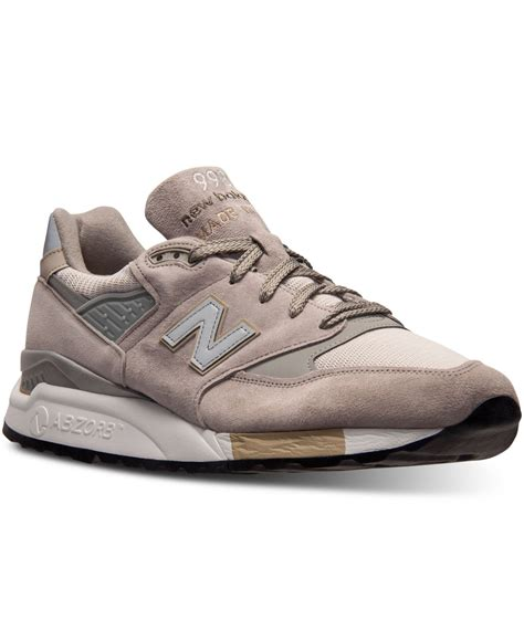 gray new balance sneakers new balance s 998 casual sneakers from finish line in