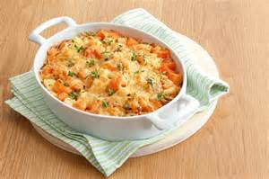 Cooking Light Sweet Potato Casserole Creamy Sweet Potato And Thyme Bake Recipe Taste Com Au