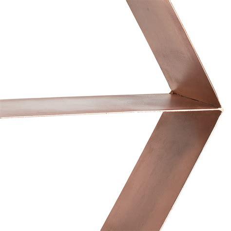 Bloomingville Shelf by Buy Bloomingville Copper Hexagonal Shelf Amara