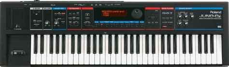 Keyboard Juno Di Second roland juno di 61 key synthesizer black sweetwater