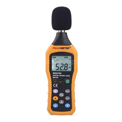 Db Meter Digital Sound Level Decibel Meter 30 130db Pressure Noise