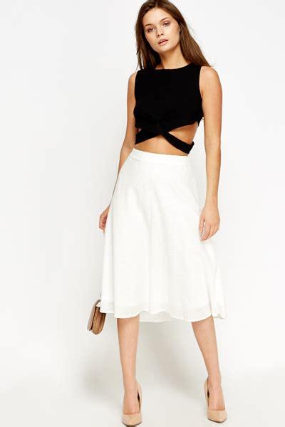 white swing skirt off white swing skirt just 163 5