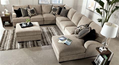 ashley katisha sectional have a seat any way you want with the katisha platinum