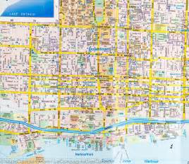 maps toronto canada directions map of downtown toronto routemaster mapscompany