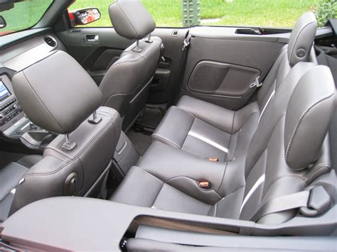 ford mustang convertible back seat space car chat 2 the place you go when plac isn t considering a
