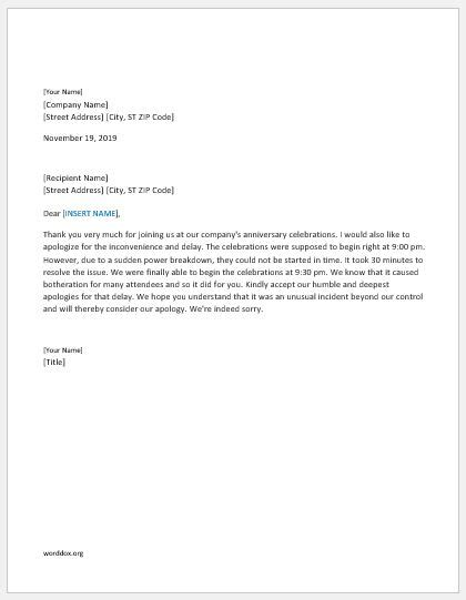 Apology Letter Beginning 46 apology letter templates for everyone word document